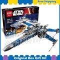 740 шт. Star Wars вселенная Новый 05029 Сопротивление X-Wing Fighter DIY Модель Строительные Блоки Комплекты Игрушки Совместимо с Lego