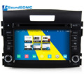 For Honda For CRV S160 Android 4.4 Car Media Styling Tuning Accessories GPS Navigation Stereo Radio+DVD+Bluetooth+3G+WIFI+ MP3