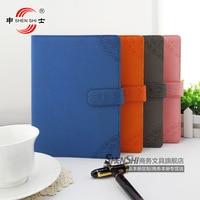 stationery series 186 B5/A5 Vintage Leather binder Notepad Notebook wholesale custom 1 PCS