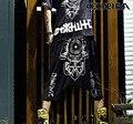 #1922 punk rock pantalones harem gota entrepierna pantalones hip hop desgaste harajuku harem mujeres nuevo 2015 hip hop pantalones mujeres