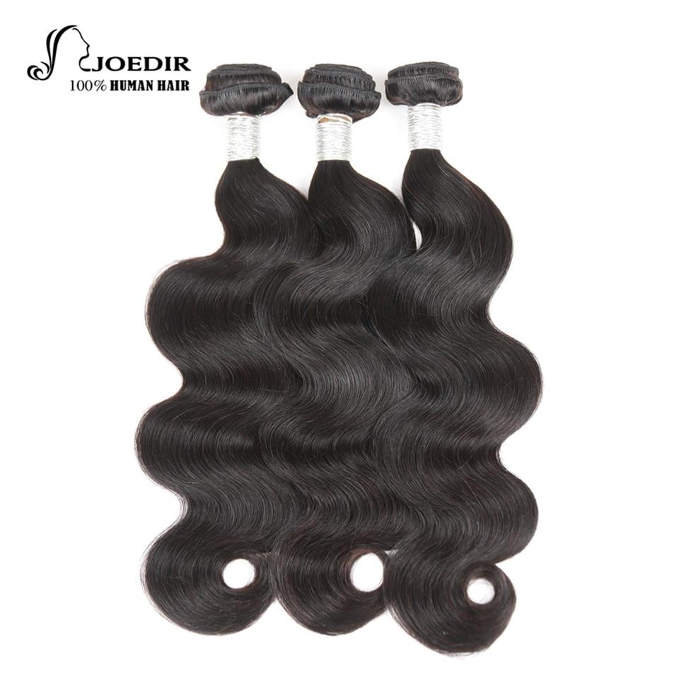 Joedir Pre-Colored Malaysian Hair Body Wave 3 Ofertas No Remy Body - Productos de belleza