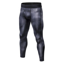Men Physical Exercise Training Tight Trousers Basketball font b Football b font Sport Movenment Pants Flexible