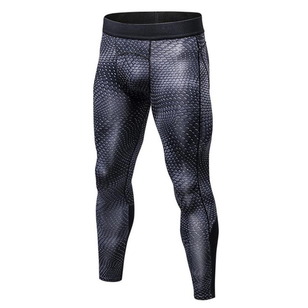 Men Physical Exercise Training Tight Trousers Basketball Football Sport Movenment Pants Flexible Breathable Quick Dry Pants 2018