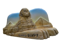 Egypt Pyramids Sphinx Aromatherapy Cold Porcelain Hand Painted Fridge Magnets Travel Souvenirs Refrigerator Magnetic Sticker