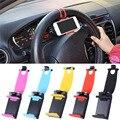GPS Del Volante Del Coche Soporte para Teléfono Navegar Cubierta Del Soporte Del Caso Para iphone 5 6 6 s plus para samsung s6 edge para htc mp4