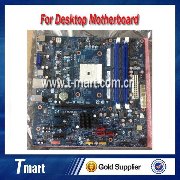100% working Desktop motherboard for Lenovo A75 CFM2D3M VER:1.0 FM2 System Board fully tested
