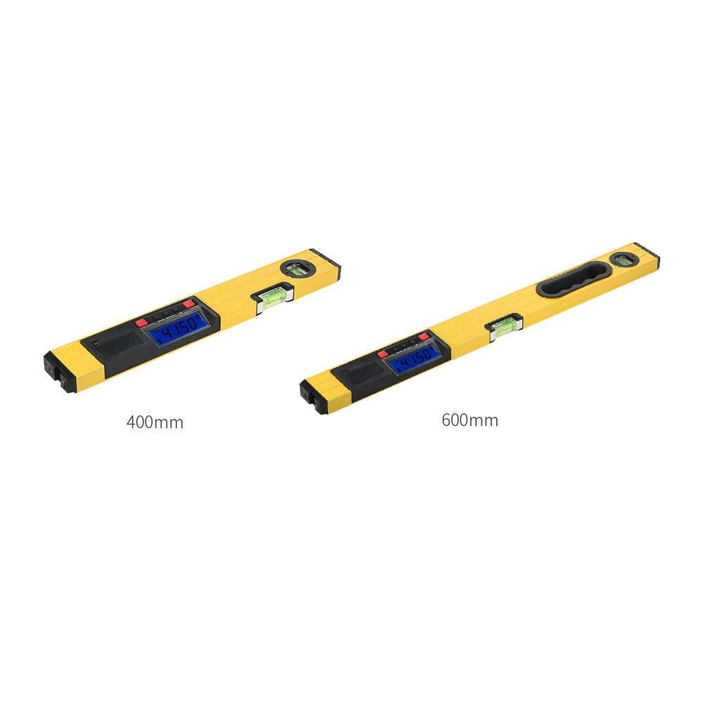 400/600 мм Цифровой дух лазерный уровень Транспортиры Инклинометр цифровой уровень с лазерным лучом цифровой уровень с лазерной
