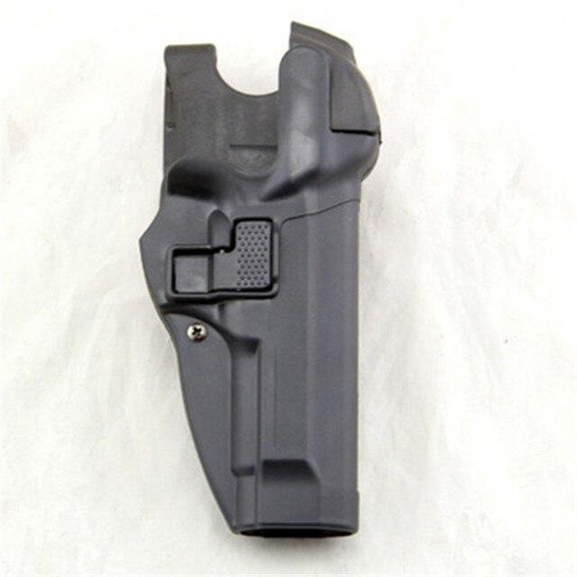 טקטי סרפה רמת 3 שמירת נעילה אוטומטית Duty אקדח אקדח נרתיק יד ימין מותניים חגורת לולאה לרטה 92 96 m9 M92