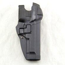 Tactical Serpa Livello 3 di Ritenzione di Blocco Automatico Duty Pistola della Pistola della custodia per Armi della Mano Destra Vita Passante per Cintura per Beretta 92 96 m9 M92