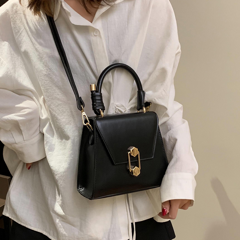 Luxury Handbag Vintage Fashion Female Tote bag 2019 New Quality PU Leather Women's Designer Handbag Lock Shoulder Messenger bags 2