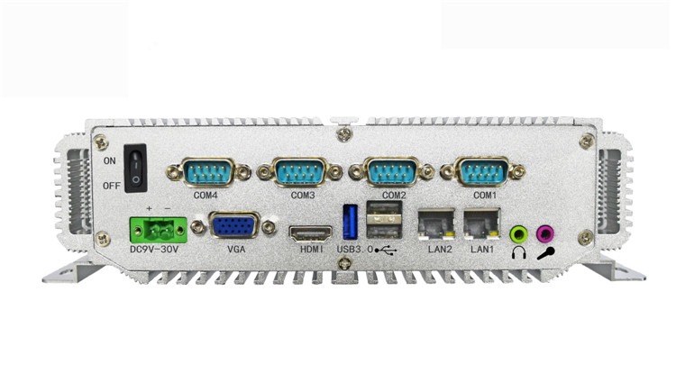 Rack de servidores 19 J1900 2.0 GHZ 32G SSD Sin Ventilador venta caliente mini p