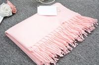 Autumn Winter Luxury Scarf Unisex 2016 Female Male Wool Imitation Cashmere Scarf Pashmina Tassels Women Men