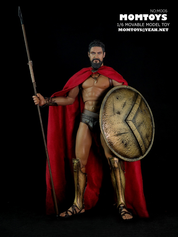 1 6 scale Super flexible figure Ancient Greek warrior 300 warrior Wolf 12 action figure doll