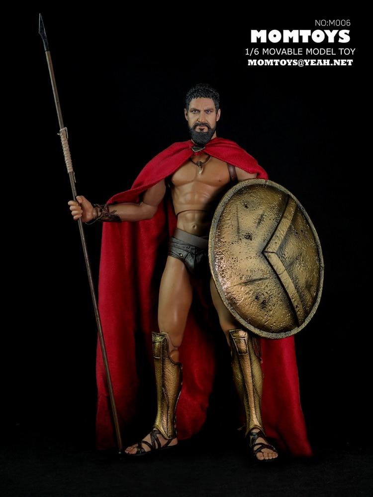 """1:6 schaal Super flexibele figuur Oude Griekse warrior 300 warrior Wolf 12 """"action figure pop Collectible Model Plastic speelgoed-in Actie- & Speelgoedfiguren van Speelgoed & Hobbies op  Groep 1"""
