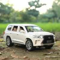 1:24 alloy pull back toy car model,LAND CRUISER 6 open the doors,high simulation Tiguan LX570, diecast metal,free shipping