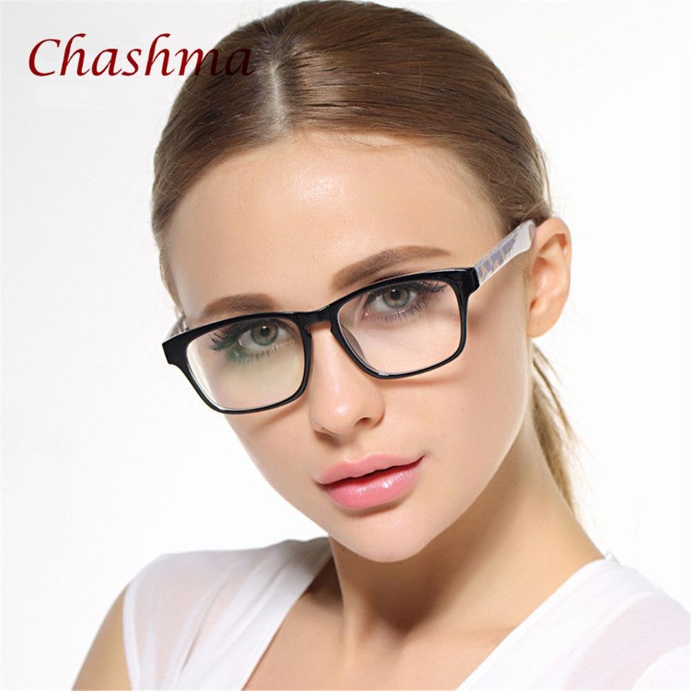 Big Frame Black Glasses Stylish Eyewear Women and Men Eyeglasses ...