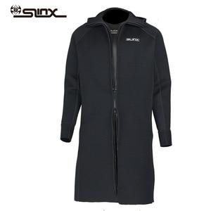 Image 2 - New SLINX 3MM Men Women Neoprene Hooded Windbreaker Wetsuit Diving Suit Keep Warm Swimwear for Snorkeling Fishing Swimming
