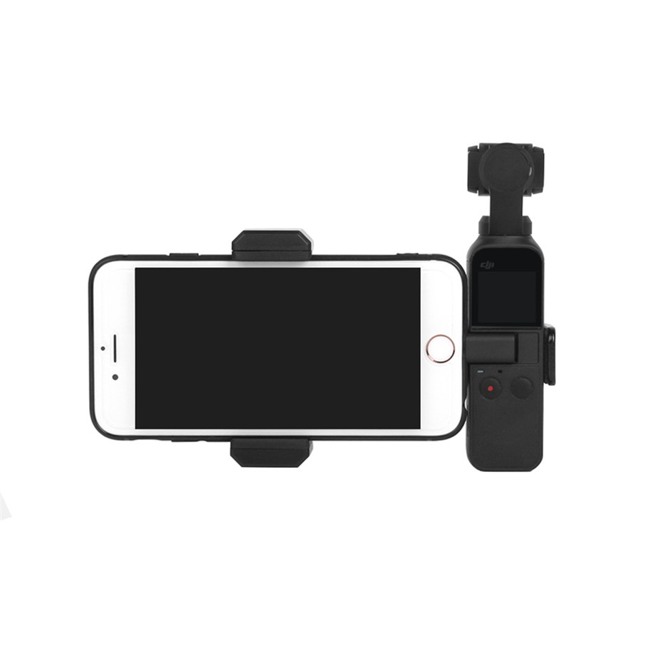 OSMO Pocket Smartphone Fixing Bracket Stand Clamp Extending Rod Tripod for DJI OSMO POCKET Gimbal Accessories 33