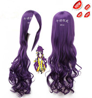 New Purple Hair Accessories 80cm 350g Synthetic Curly Hair Jewelry Extension For VOCALOID China Mo Qingxian