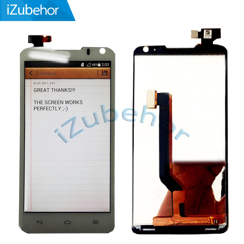 100% Warranty White LCD Screen Display With Touch Screen Digitizer Assembly for Huawei Ascend D1 U9500 By Free Shipping(China)