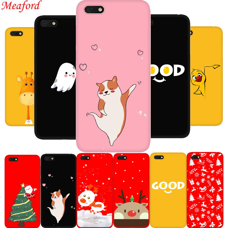 <font><b>Fundas</b></font> For <font><b>Huawei</b></font> Y5 Prime <font><b>2018</b></font> Case Silicone Soft Cover For <font><b>Huawei</b></font> Y5 <font><b>2018</b></font> <font><b>5</b></font>.45 DRA-L01 DRA-L21 <font><b>Y</b></font> <font><b>5</b></font> <font><b>2018</b></font> Case TPU Fashion Funny image