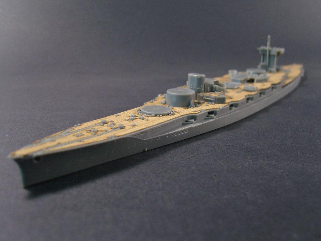 /FUJIMI ARTWOX 431154 battleship Fuso wooden 1938 deck AW20090 Japanese
