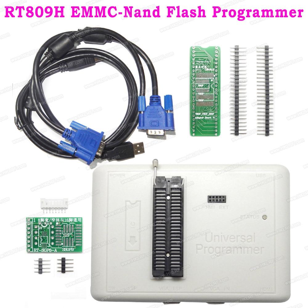 RT809H Universal USB Programmer Better Than RT809F TL866II Plus EMMC Nand FLASH Bios EEPROM Programmer BGA64
