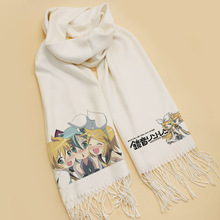 Natsume Yuujinchou scarves Scarf Cosplay Soft White Warm Cute Winter Scarf Shawl Fashion New CHRISTMAS Gifts anime natsume yuujinchou cosplay 2017 new animation canvas bag casual backpack korean fashion students