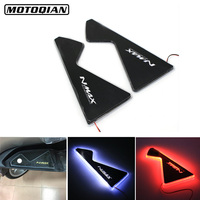 Moto Footrest Night light for Yamaha N Max 125 155 LED Foot Bracket Lamp Light Footpegs Nmax 155 Nmax 125 Motorcycle Accessories
