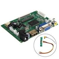 HDMI VGA 2AV Controladora Board LVDS 50 PIN TTL Monitor PI LCD AT070TN90 92 94