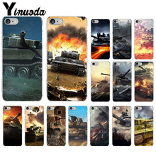 Yinuoda World of Tanks Soft Silicone TPU Phone Cover for Apple iPhone7 8 6 6S Plus X XS MAX 5 5S SE XR Cellphones цена и фото