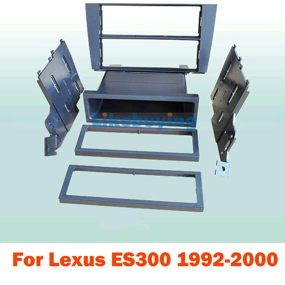 2 рамы автомобиля черточки комплект DIN для Лексус GS300 19971998 1999 2000 2001 2002 2003 2004 2005 по 172*97.5 мм Размер 2 DIN автомагнитолы размеры