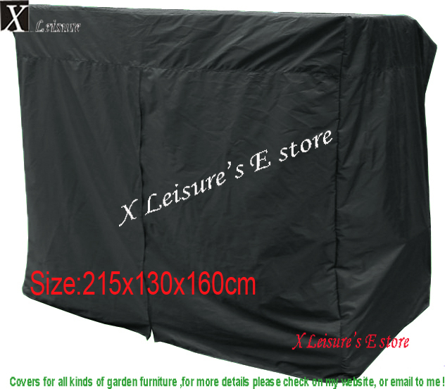 Free Shipping Protective Cover For Patio Swing Chair Furniture 215x130x160cm