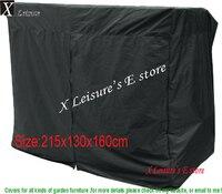 Бесплатная доставка защитный чехол для патио качели, Мебель крышка-215x130x160 см