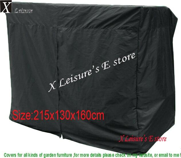 Livraison gratuite housse de protection pour chaise balançoire Patio, housse de meubles-215x130x160 cm