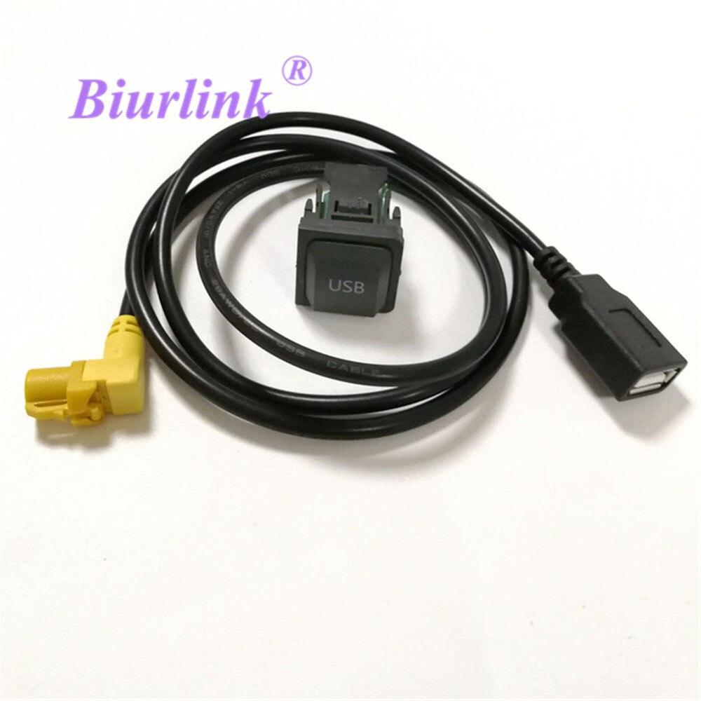 DIY De Voiture USB Adaptateur Audio USB Câble Commutateur pour VW Volkswagen