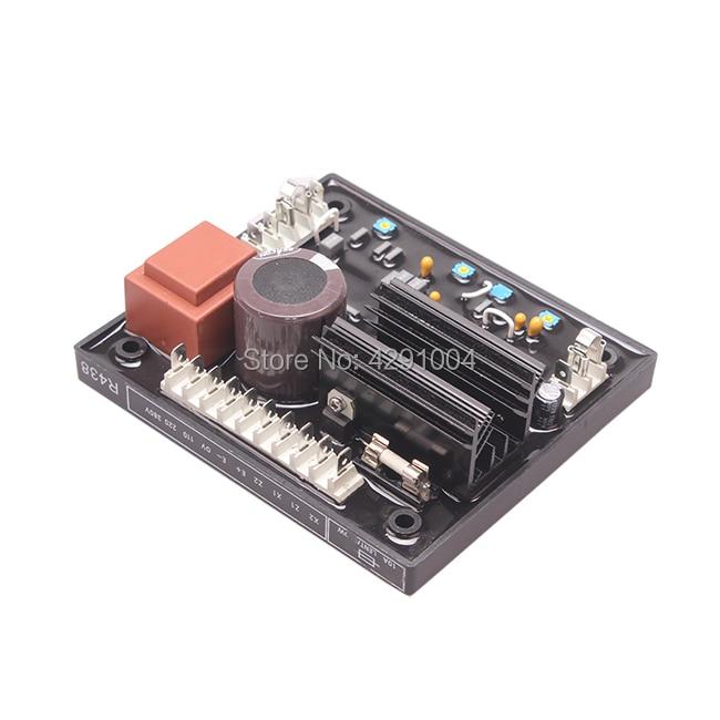 лучшая цена Match electric generator AVR R438 automatic voltage regulator