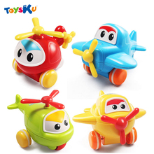 Baby Toys Push Back Plane Toys Early Educational Toys For Children Kids Mini Cartoon Plane Great Gift Toys