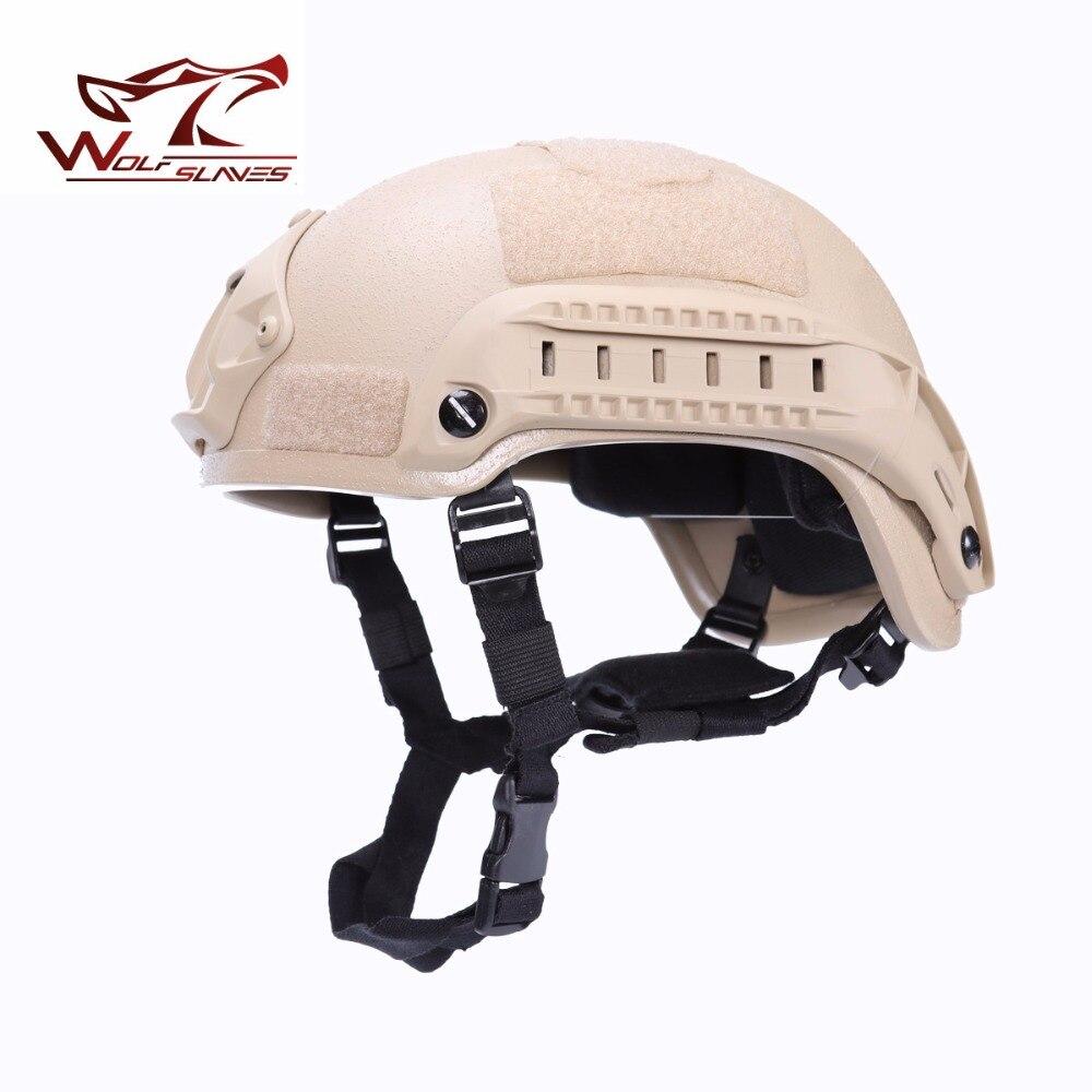 Mich 2001 version Action casque armée tactique universel Portable Paintball militaire spécial pour la chasse en plein air Camping