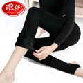 Langsha Foot Women Leggings Super Elastic Slim Pants 2200D Crotch Thicken Velvet Warm Girls Leggings Autumn Winter Trousers