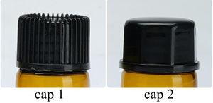 Image 3 - 100 個 1 ミリリットル/2 ミリリットル/3 ミリリットル/5 ミリリットル dram アンバーガラスエッセンシャルオイルボトル薄型ガラス小さなブラウン香水オイルサンプル試験瓶