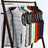Mode Für Männer Weste Winter Männer Marke Weste Männlichen Casual Baumwolle Gefütterte Weste Sleeveless Jacke und Mantel Warme Plus größe S-5XL 665