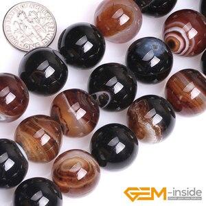 """Image 1 - Agates de dentelle de rêve 16mm 18mm 20mm perles perles de pierre naturelle perles de bricolage pour Bracelet collier fabrication de bijoux brin 15 """"en gros!"""