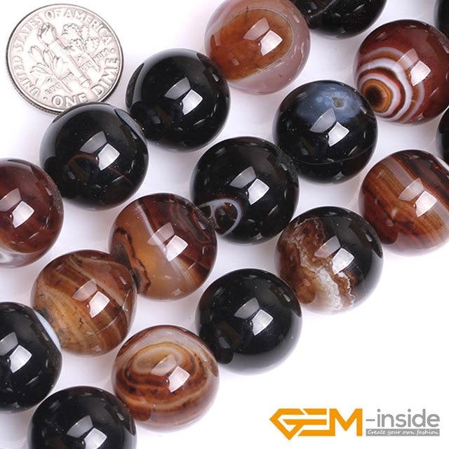 "Sonho rendas ágata 16mm 18mm 20mm grânulos de pedra natural contas diy para pulseira colar jóias fazendo costa 15 ""atacado!"