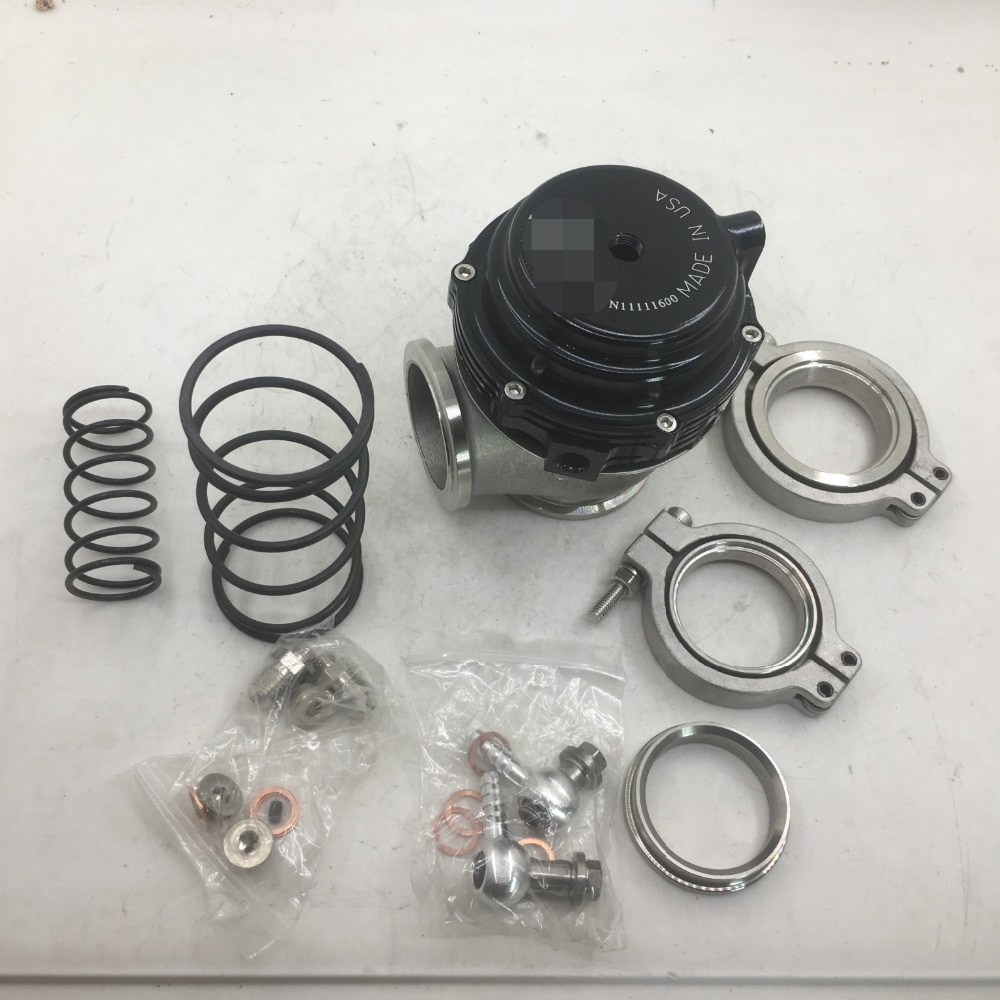 SherryBerg bov 44mm Wastegate WITH VBAND FLANGES V44 Black PSI 7,14,17 black color t-ail Brand new цены