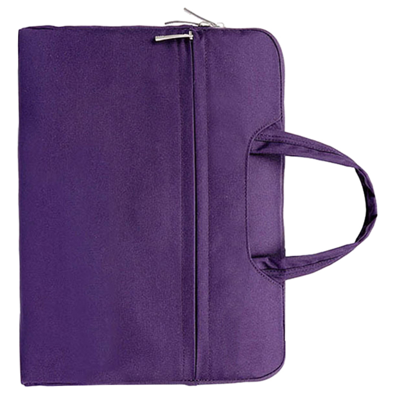 Fashion Universal Laptop Ultrabook Notebook Skin Bag &for Macbook Air Pro Sleeve Case (Purple )