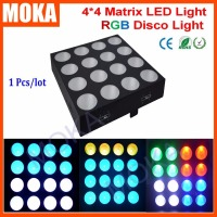 2016 New Arrival 16 Pcs 30w RGB LED Matrix Blinder 4x4 For Bar Club