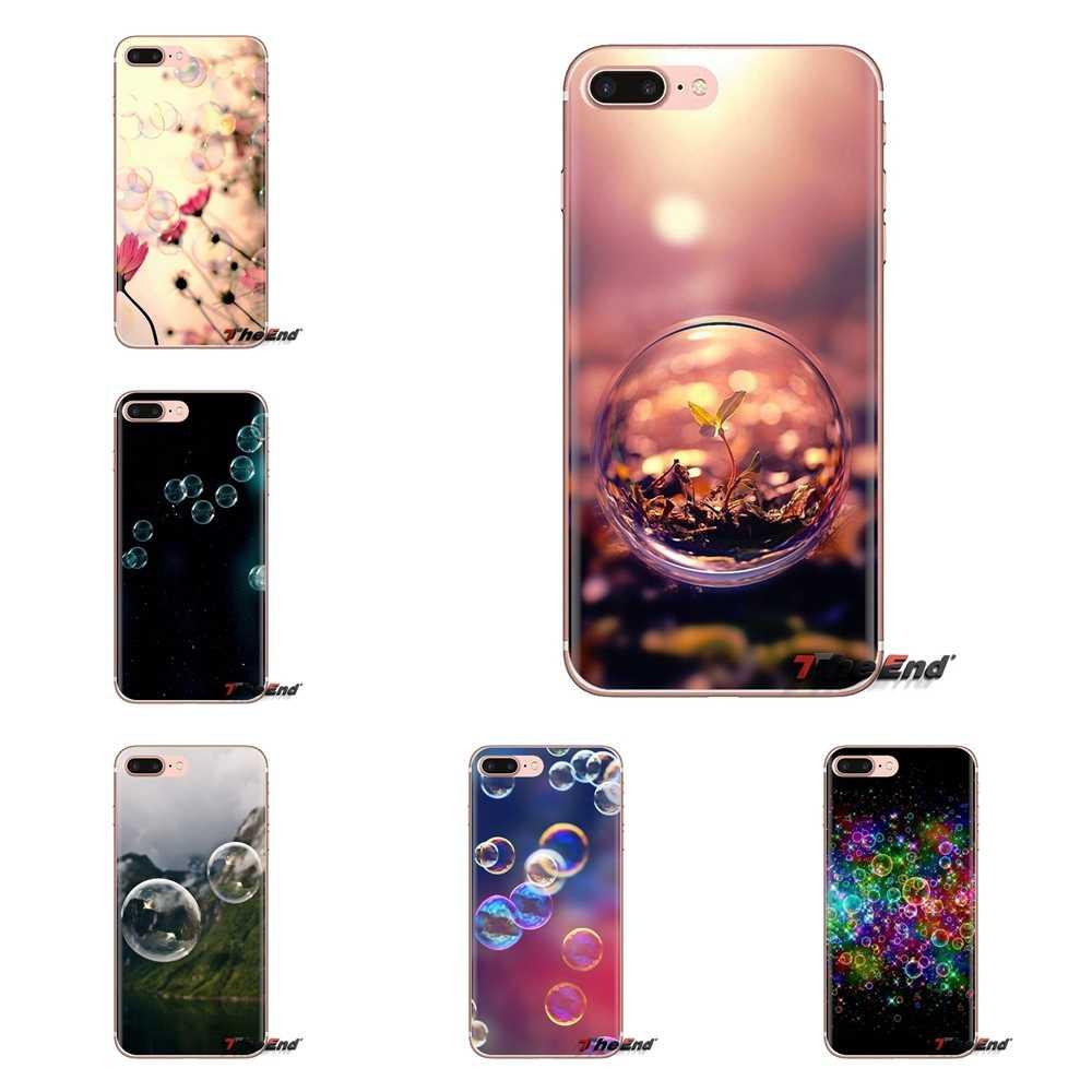 Đẹp Pastel bong bóng Xà Phòng Nghệ Thuật Dành Cho Samsung Galaxy Samsung Galaxy A3 A5 A7 A9 A8 Ngôi Sao A6 Plus 2018 2015 2016 2017 ốp Điện Thoại Vỏ Có