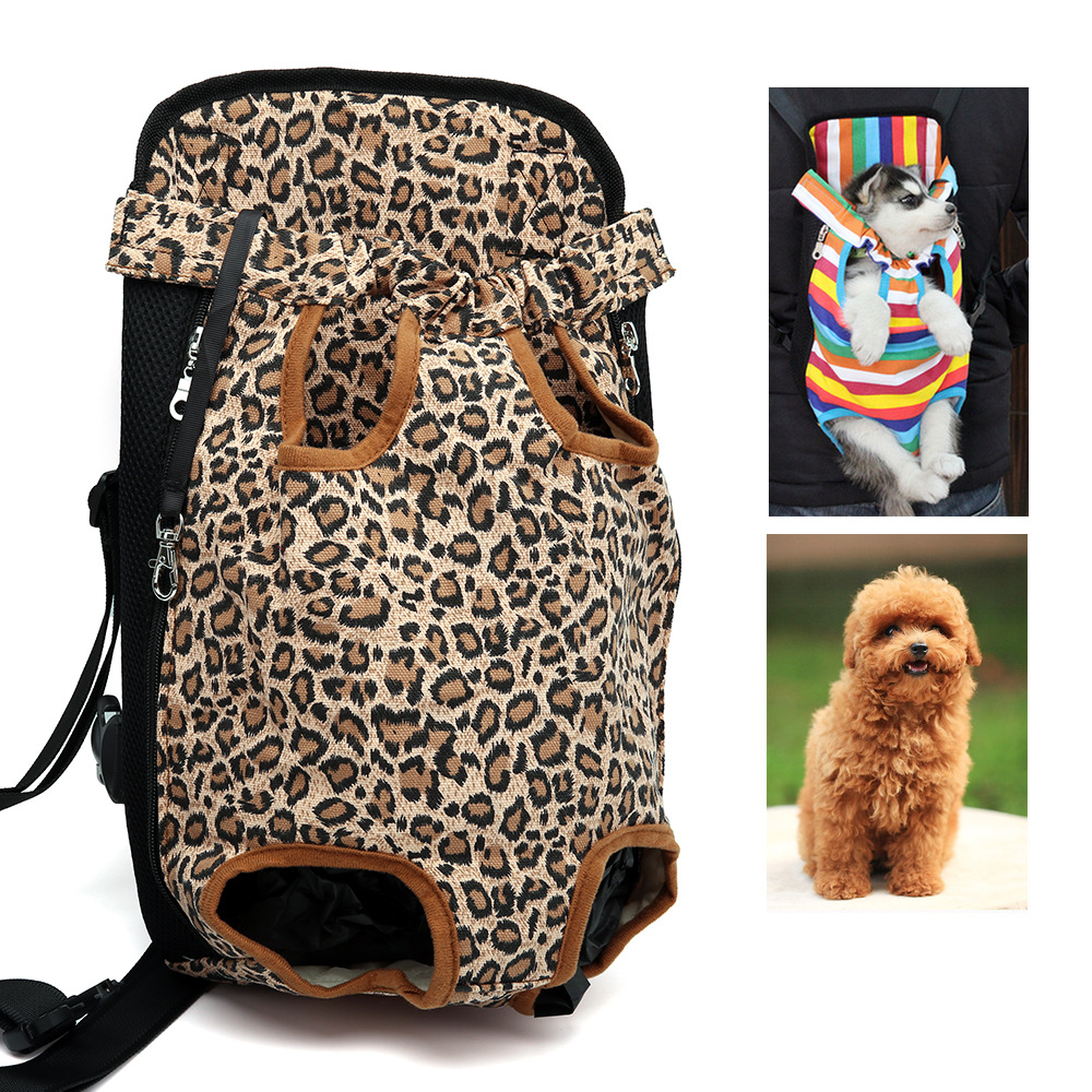 Triple Pet Stroller Us 10 59 Pet Backpack Dog Bag Chest Pack Dog Carrier Legs Out Front Style Pets Supplies Comfort Travel For Small Dog Backpack Carrier In Dog