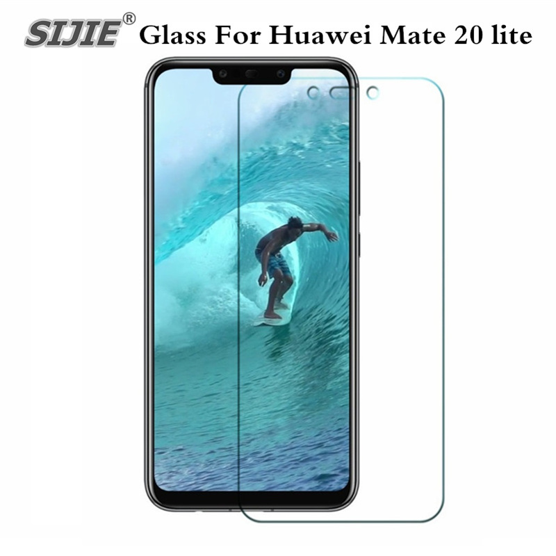 Tempered Glass for Huawei Mate 20 lite Maimang 7 6GB <font><b>64GB</b></font> Protector Film smartphone Mate20lite 20lite 9H Screen Protective case image
